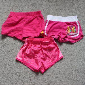 Circo Disney Girls Sz 3T Shorts 3 PC Pink Sport